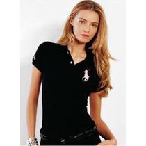Blusa Camisa Polo Feminina Varias Cores Em Promoção