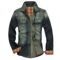 Camisa Jeans Masculina Importada