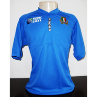 Camisa Seleção Italia De Rugby Rwc2011 Kappa Nova Importada