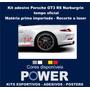 Kit Adesivo Porsche Gt3 Rs Nurburgrin Tempo Oficial
