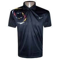 Camisa Polo Nike Preta Poliéster Várias Cores Original