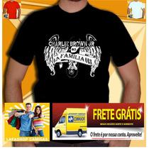 Camiseta La Familia 013 Cbjr Charlie Brown Jr Frete Gratis