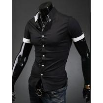 Camisa Social Slim Fit Tk73 E Tk74 A Pronta Entrega