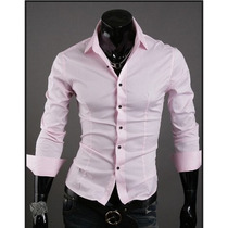 Camisa Social Slim Importada Tk04 A Tk09 A Pronta Entrega