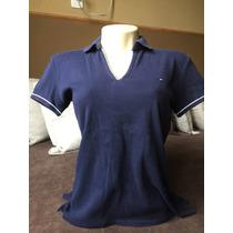 Camisa Feminina Tommy Hilfiger Gola Polo