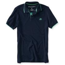 Aeropostale - Camiseta Gola Polo Masculina Original P Ao Ggg