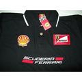 Camisa Camiseta Polo Escuderia Ferrari 5 Cores! Gola Dupla!