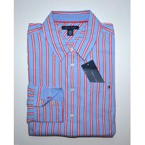 Blusa Social Tommy Hilfiger: Tamanho M Feminina Camisa Botão