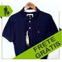 Camisa Polo Masc. S&f Marinho Original Qualid. De Importada