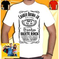 Camisa Charlie Brown Jack Cbjr Camiseta Rock Skate Homem La