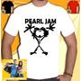 Camisa Pearl Jam Camiseta Ramones Guns Redhot Acdc Bon Jovi