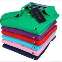 Camisa Polo Tommy Hilfiger Masculina Varias Cores
