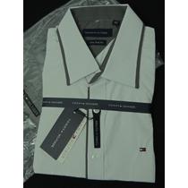 Camisa Social Sport Tommy Hilfiger New York Fit 16/2