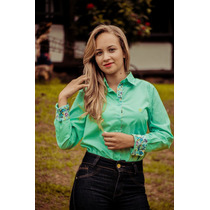 Camisa Kyrillos Feminina Fio 60 100% Algodão Ref.k9000915