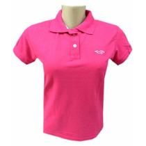 3 Camisas Polo Feminina Ralph Lauren Hollister Calvin Klein
