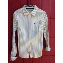 Camisa Abercrombie & Fitch Feminina Vintage Social Original