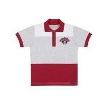 Camisa Polo Infantil Masculina Bordado Sports Championshi...