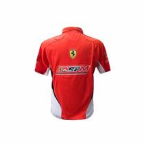 Camisa Polo Puma Ferrari - Pronta Entrega - Fte. Grátis
