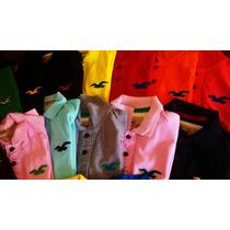 Camisa Gola Polo Hollister Masculina Importada Qualidade