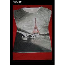 Kit 10 Camisetas Atacado Revenda Lindas T-shirts Femininas