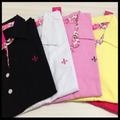 10 Camisas Gola Polo Femininas Varias Cores - Vide Foto