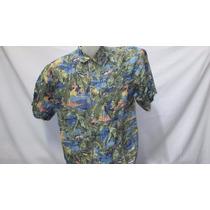 Camisa Imp Hilo Hatties Hawaii Seda Fina G Havaiana 510