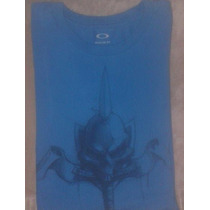 Camiseta Oakley Manga Longa - Tam G Regular Fit