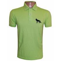 Camisa Polo Acostamento Verde Limão Ac101
