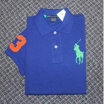 Blusa Polo Ralph Lauren Big Pony Tamanho M Feminina Original