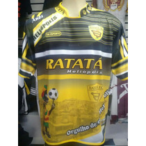 Camiseta Ratata Futebol Clube É Nois Que Tá Heliópolis