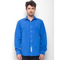 Camisa Social Masculina Azul - La Martina