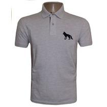 Camisa Polo Acostamento Camiseta Cinza