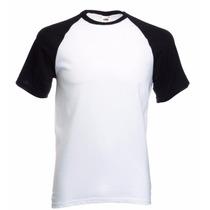 Camisa Raglan Para Sublimação