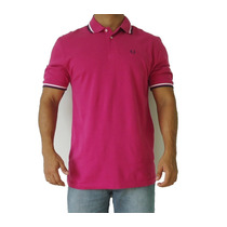 Camisa Polo Fred Perry Twin Tipped Original - Frete Grátis