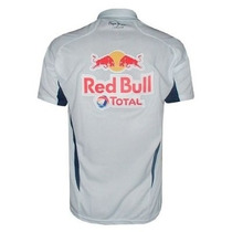 Camisa Red Bull Formula 1 Racing Team Gola Polo Branca