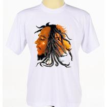 Camisa Camiseta Personalizada Bob Leão Marley Reggae Rock