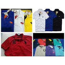 Kit 5 Polo Camisa Tommy Hollister Abercrombie Ralph Lauren