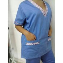 Pijama Cirúrgico Feminino Personalizado