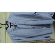 Camisa Social Tommy Halfinger - Azul M - Usada