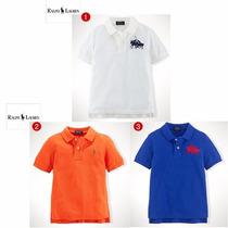 Camisa Polo Ralph Lauren Menino Original Pronta Entrega