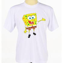 Camisa Camiseta Personalizada Bob Esponja