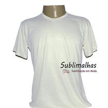 Camisa Infantil 2 A 10 Anos Cores Sublimação 100% Poliéster