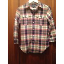 Camisa Feminina Xadrez Ralph Lauren Sport