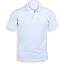 Camisa Polo, Camiseta Polo Lisa, Camisa Polo Barato, Branca