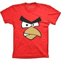 Camisa Infantil Angry Birds Vermelho