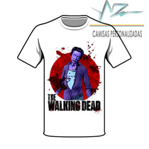 Camisa Masculina The Walking Dead Zumbi