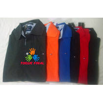 Kit 2 Camisas Gola Polo Tommy Hilfiger Masculina