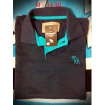 Camiseta Pólo Abercrombie E Fitch M