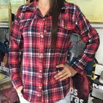 Camisa Xadrez Flanela Feminina