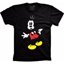 Camisa Mickey Masculina Feminina Infantil Menino Menina